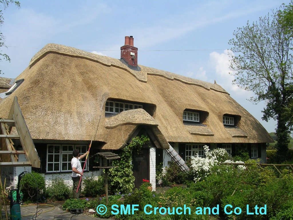 About Magma Firestop application to a thatched cottage